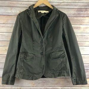 J. Crew Green Classic Twill Chino Jacket Blazer